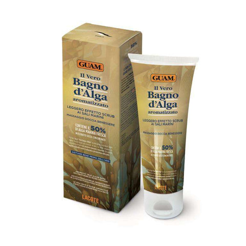 Guam seaweed shower mud