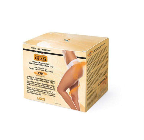 Original Seaweed Mud Anti-Cellulite Body Wrap with Infrared Heat GUAM Beauty