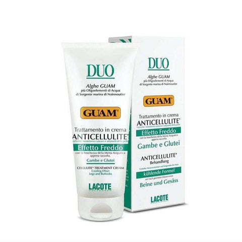 guam duo anti cellulite cream lotion anti-cellulite treatment for legs and buttocks