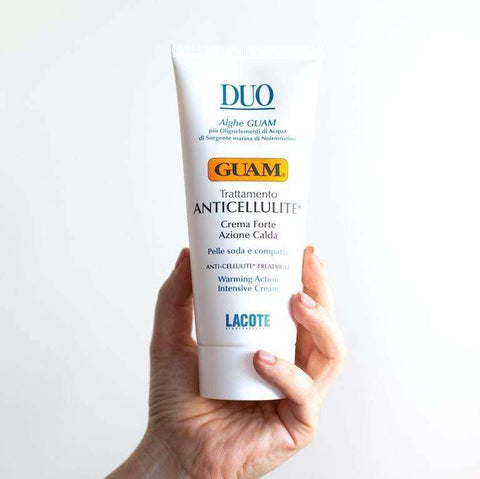 guam duo anti cellulite cream lotion anti-cellulite treatment with warming effect