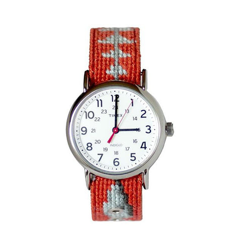 Bonefish Needlepoint Watch