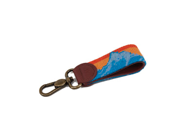 MOUNTAIN VIEW NEEDLEPOINT KEY FOB™