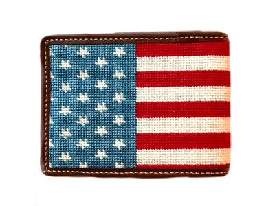 AMERICAN FLAG NEEDLEPOINT WALLET™
