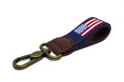 AMERICAN FLAG NEEDLEPOINT KEY FOB™