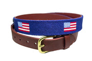 AMERICAN FLAG NAVY NEEDLEPOINT BELT™