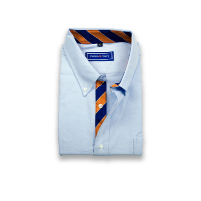 The 1892 Sport Shirt by Cotton and Navy