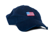 American Flag Needlepoint Hat by Asher Riley