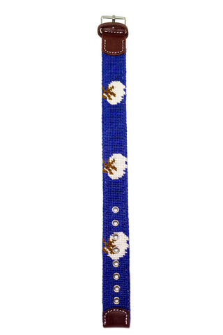 COTTON BOLL NEEDLEPOINT WATCH STRAP