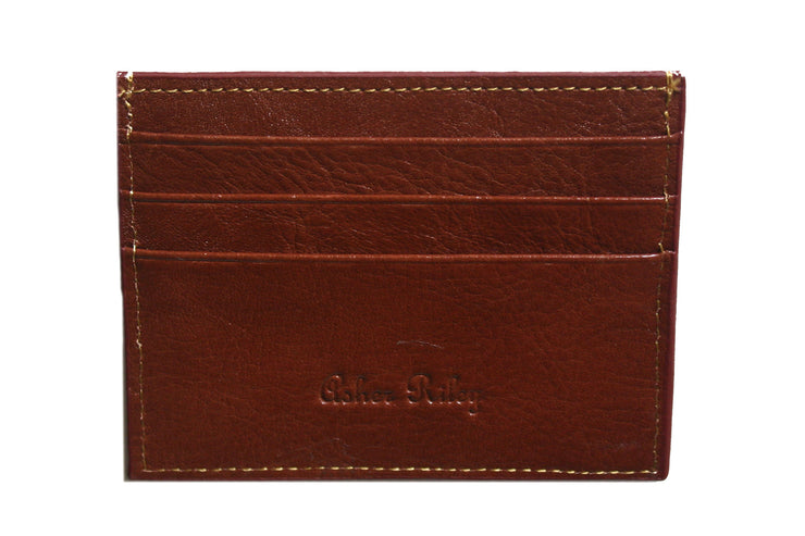 Golf needlepoint card wallet by Asher Riley