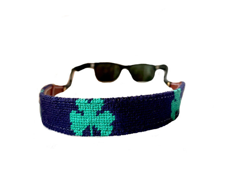 LUCK OF THE IRISH NEEDLEPOINT SUNGLASS STRAPS™