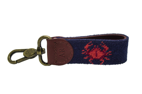 CRAB NEEDLEPOINT KEY FOB™