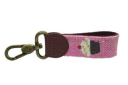 CUPCAKE NEEDLEPOINT KEY FOB™