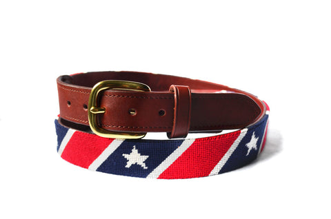STARS AND STRIPES NEEDLEPOINT BELT™