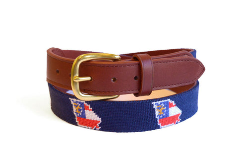 Asher Riley Georgia State Needlepoint Belt