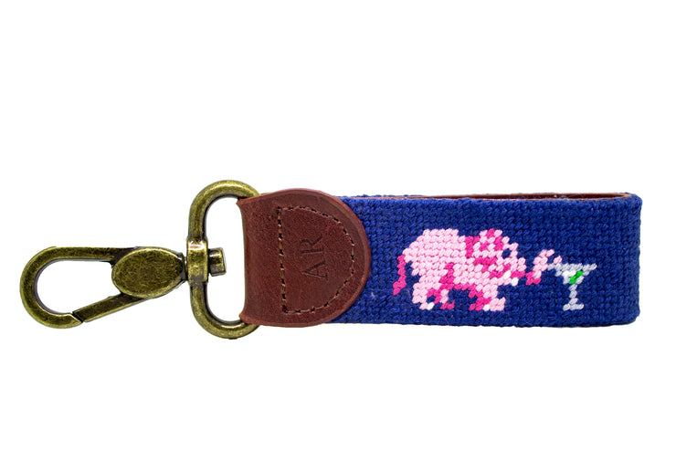 ELEPHANT NEEDLEPOINT KEY FOB™