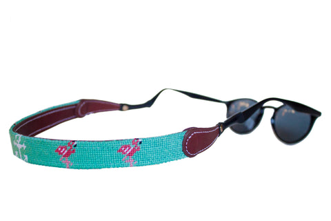 FLAMINGO & ANCHOR NEEDLEPOINT SUNGLASS STRAPS™