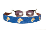 Golden Retriever Needlepoint Sunglass Straps by Asher Riley