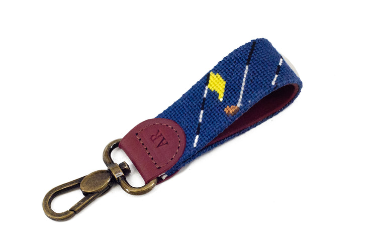 GOLF CLUB NEEDLEPOINT KEY FOB™