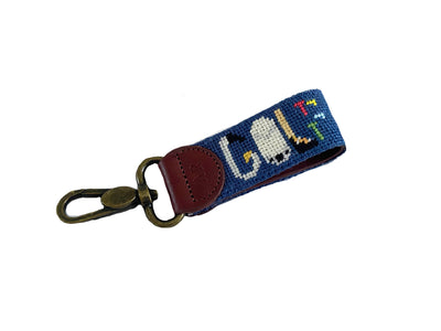 GOLF NEEDLEPOINT KEY FOB™
