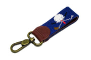 GOLF CLUBS NEEDLEPOINT KEY FOB™