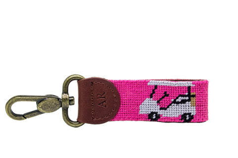 GOLF CART NEEDLEPOINT KEY FOB™