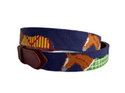 HORSE NEEDLEPOINT BELT™