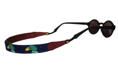 Asher Riley Mallard Needlepoint Sunglass Straps