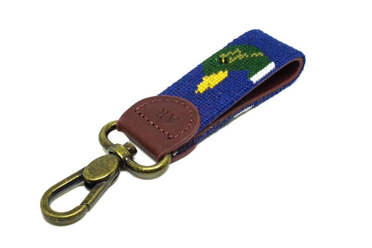 MALLARD HEAD NEEDLEPOINT KEY FOB™