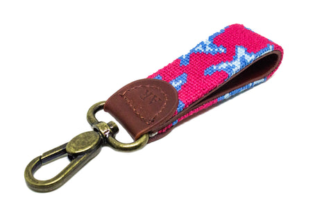 STARS NEEDLEPOINT KEY FOB™