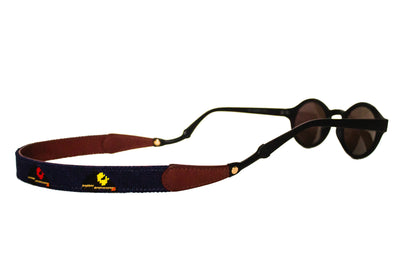 Asher Riley Race Horse Needlepoint Sunglass strap