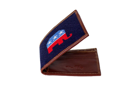 REPUBLICAN ELEPHANT WALLET