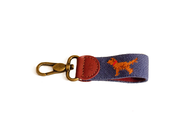 GOLDEN RETRIEVER NEEDLEPOINT KEY FOB™