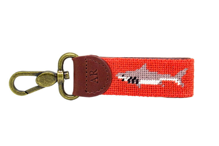 SHARK NEEDLEPOINT KEY FOB™