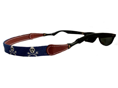 JOLLY ROGER NEEDLEPOINT SUNGLASS STRAPS™