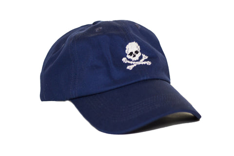 JOLLY ROGER HAT NAVY
