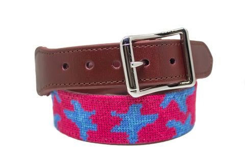 STARS NEEDLEPOINT DOG COLLAR™