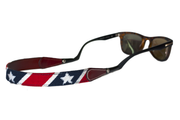 Asher Riley patriot needlepoint sunglass straps