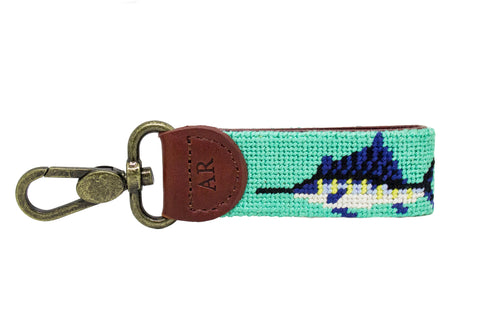 SWORDFISH NEEDLEPOINT KEY FOB™