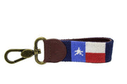 TEXAS FLAG NEEDLEPOINT KEY FOB™