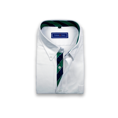 The Kennedy Sport Shirt by Cotton and Navy