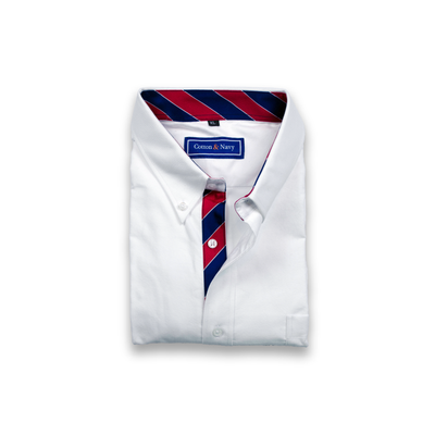 The Campus Sport Shirt by Cotton and Navy