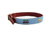 WAGON NEEDLEPOINT DOG COLLAR™