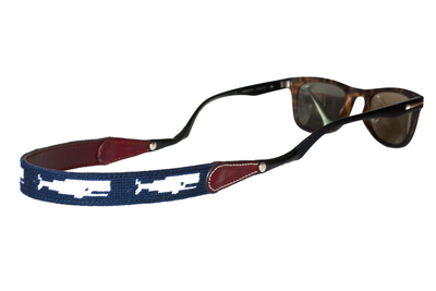 Asher Riley Whale Needlepoint sunglass straps