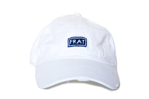 Frat Needlepoint Hat Asher Riley
