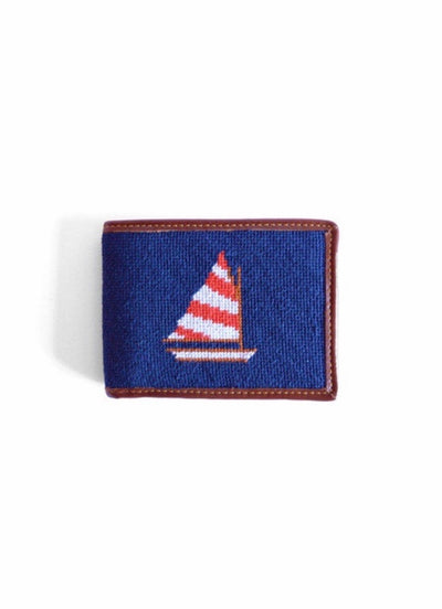 Sailboat Needlepoint Wallet