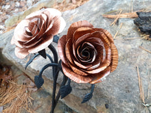 Load image into Gallery viewer, Copper and Steel Rose