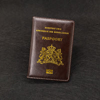 Netherlands Passport Cover Soft Pu leather New Holland Women Covers For Passport Holder Nederlanden Dutch Nederland paspoort