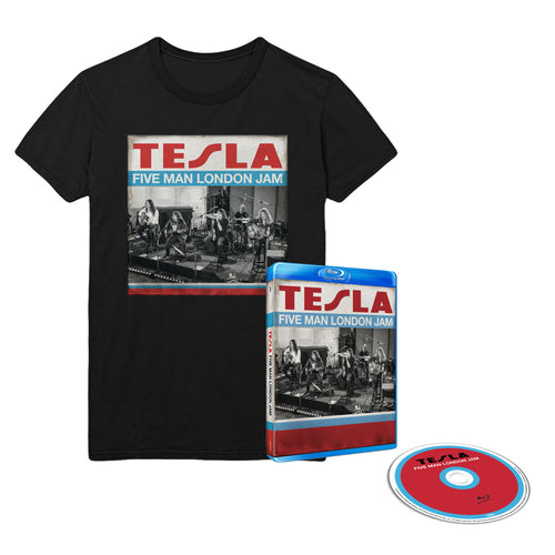 Five Man London Jam BluRay & Tee