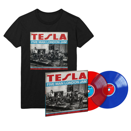 Five Man London Jam Limited Edition Color LP & Tee