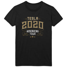 Load image into Gallery viewer, Tesla 2020 American Tour Black Tee